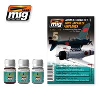 A.MIG 7418 WWII Japanese Airplanes - In cooperation with Jamie Haggo and Diejo Quijano Set