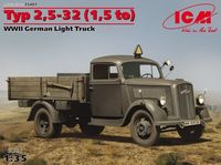 Typ 2,5-32 (1,5 to), WWII German Light Truck - Image 1