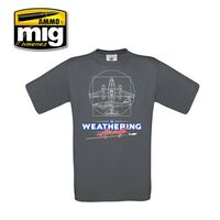 "THE WEATHERING AIRCRAFT T-SHIRT ""L"""
