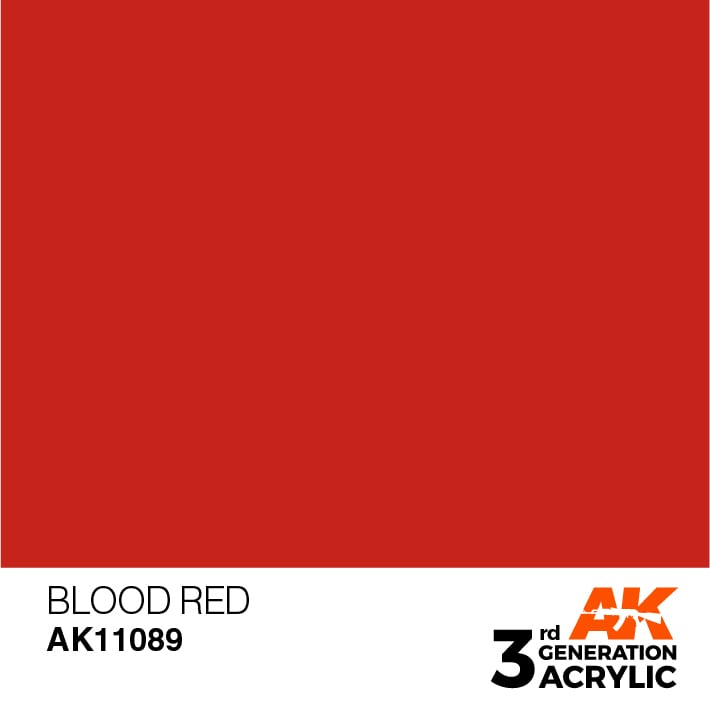 AK 11089 Blood Red - Image 1