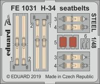 H-34 seatbelts STEEL  GALLERY MODELS - Image 1
