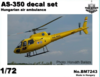 AS-350 heli. Ambulance HUN markings