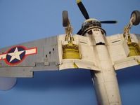 F4U CORSAIR wheel bay Tamiya - Image 1