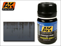 AK 069 STREAKING GRIME FOR PANZER GREY