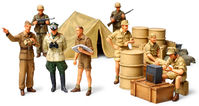 WWII GERMAN AFRICA CORPS INFANTRY SET - Image 1