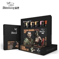 ABT301 Abteilung Modeling Oil Paint Set -Flesh (6 Colors)