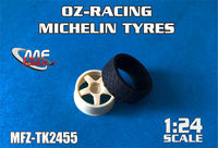 OZ-Racing + Michelin Tyres for Hasegawa Focus RS WRC - Image 1