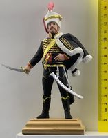 French hussar. Officer of the 11th hussar regiment