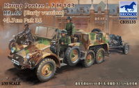 Krupp Protze L2 H 143 Kfz.69 (early version) with 3.7cm Pak 36 - Image 1