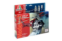 BELL 412 Los Angeles City Fire Department MODEL SET