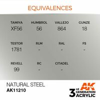 AK 11210 Natural Steel