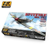 Spitfire Mk IXC Late Fighter (Plastic Kit)