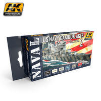 AK 5020 US Navy Camoflages #2 Set