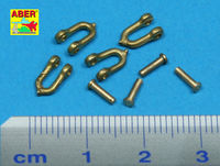 Early model shackle for Pz.Kpfw.Vpanther x 4pcs