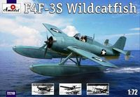 "Grumman F4F-3S Wildcatfish Floatplane Version of F4F-3 ""Wildcat"" - Image 1"